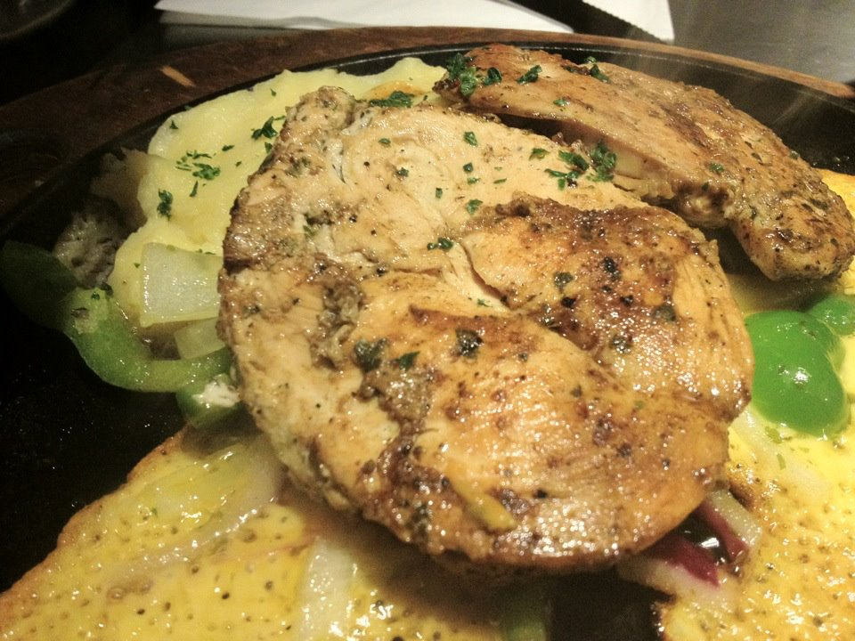 Sizzling Chicken and Creamy Mash @TGIF