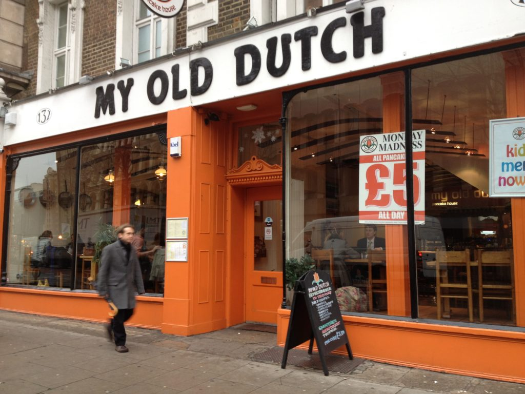 My Old Dutch Pancake House, Holborn