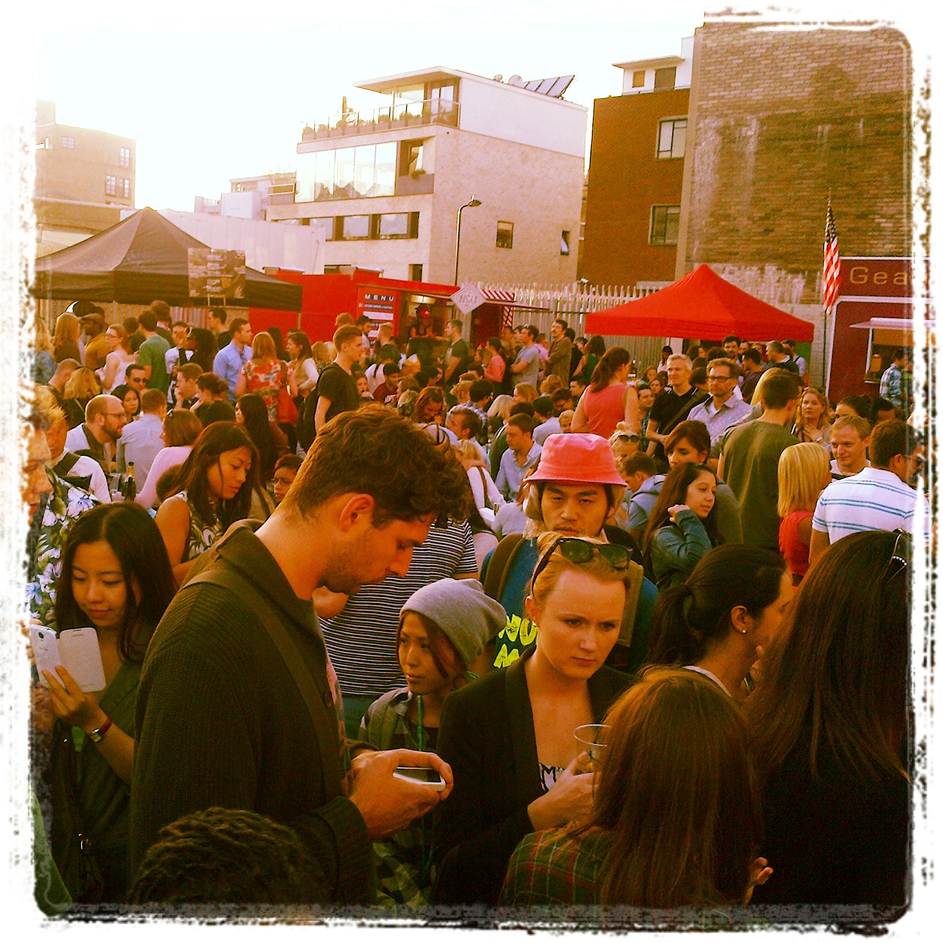 crowd at urban food fest