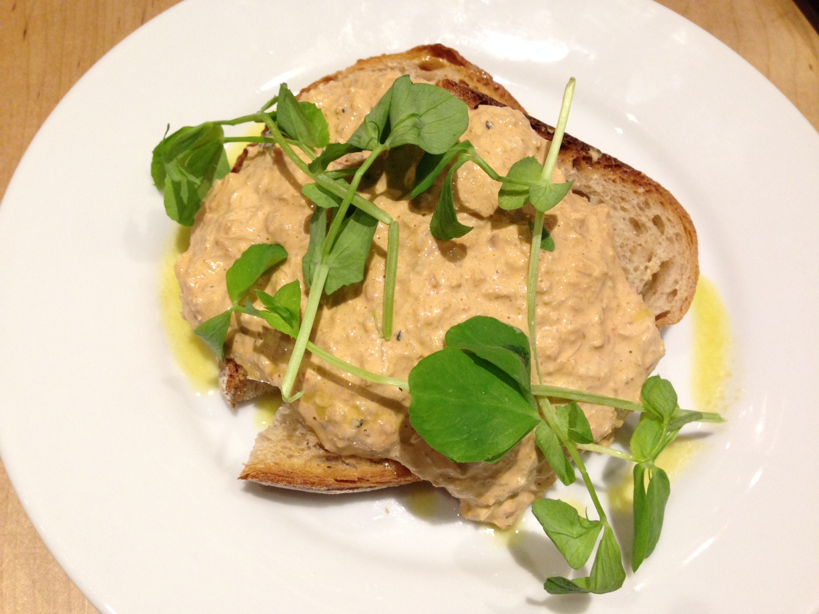 devilled crab on toast franze and evans