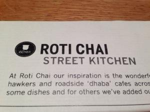 Roti Chai- Street Kitchen