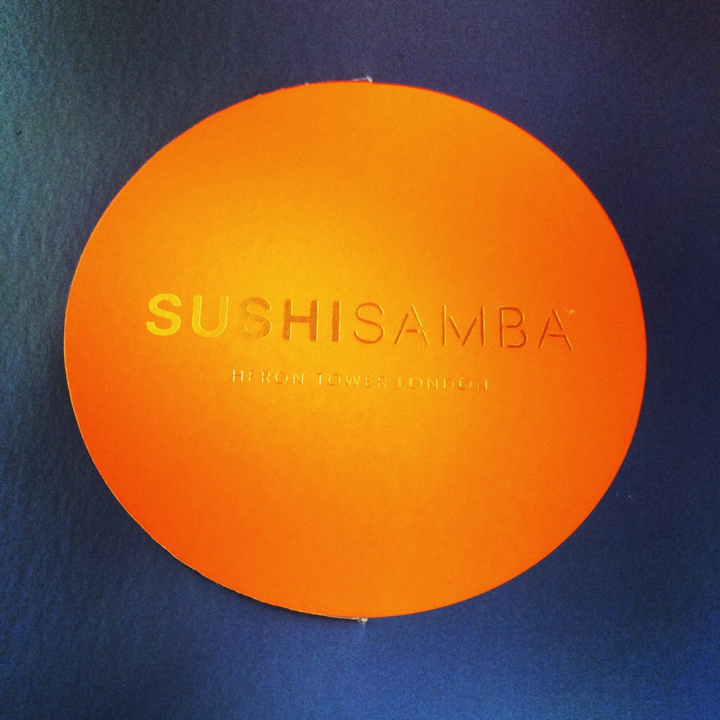 Sushi Samba, Heron Tower EC2N 4AY