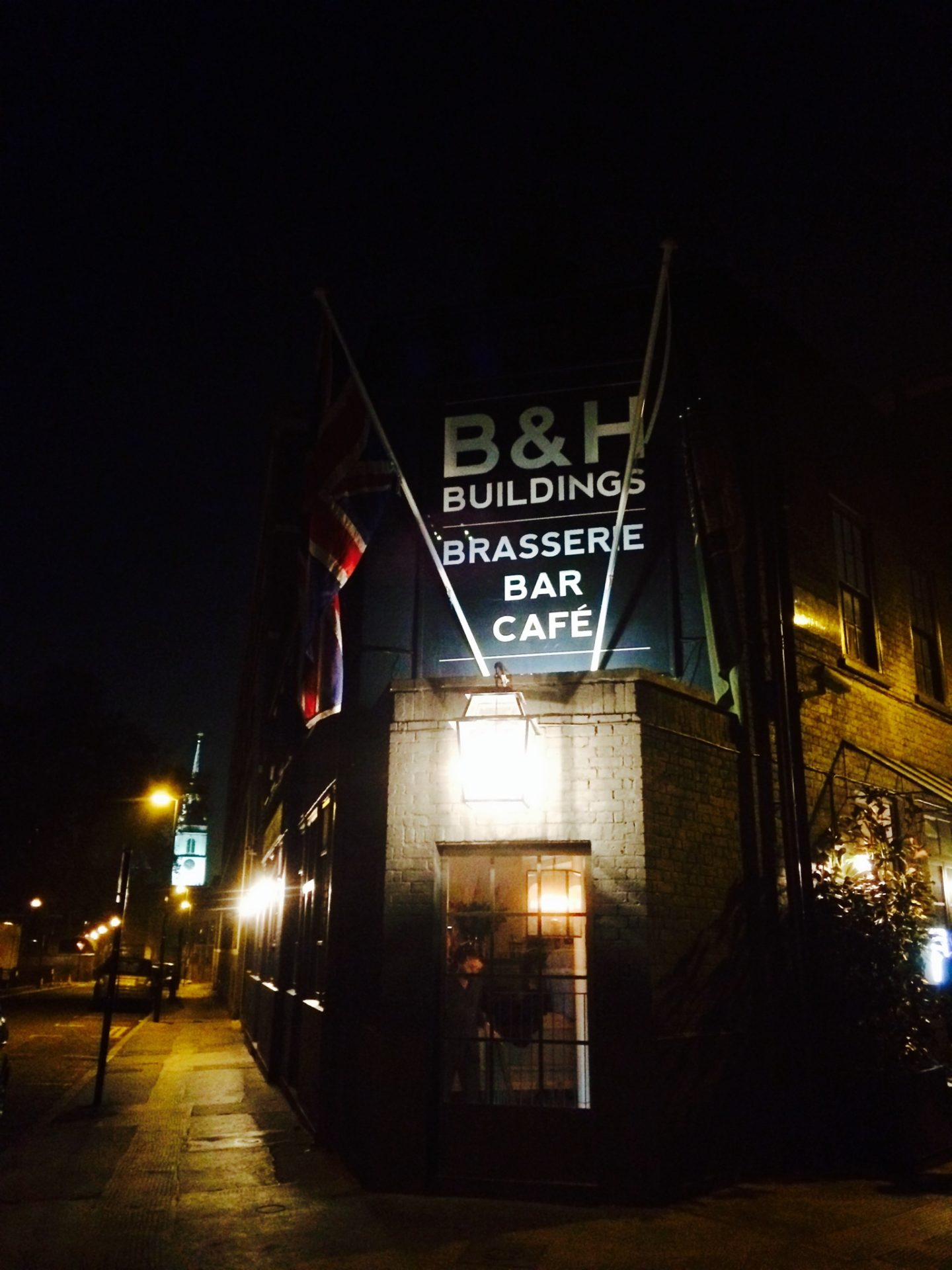 A decadent evening at Bourne and Hollingsworth Buildings, Clerkenwell