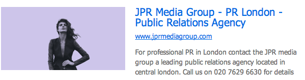 JPR Media Group London PR