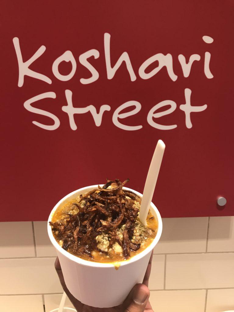Koshari Street, Covent Garden Egyptian food London