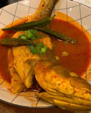 Assam Pedas, Queensway, Normah's, Malaysian food