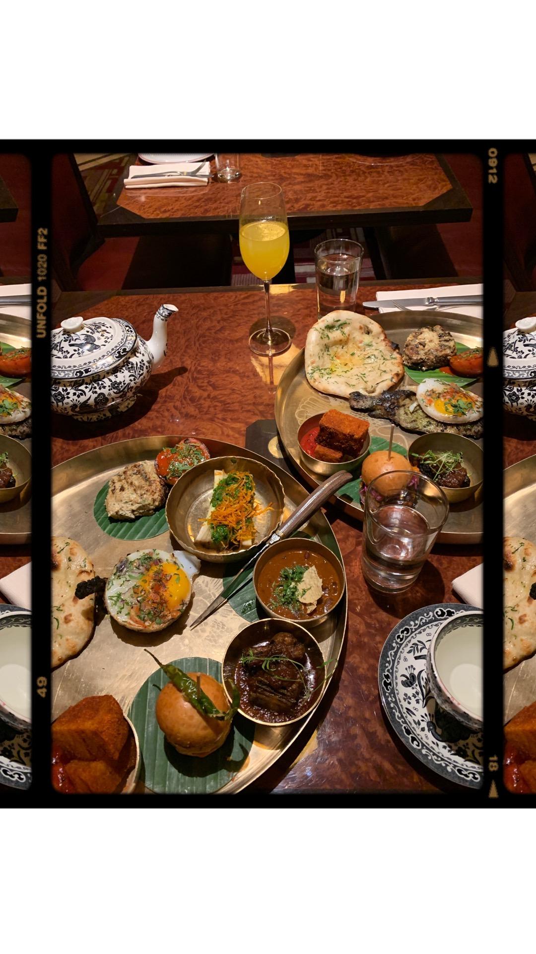 Brigadiers, Indian food in Bank London