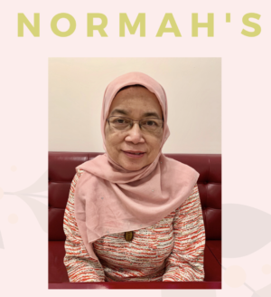 Normah of Normah's Malaysian food, Queensway