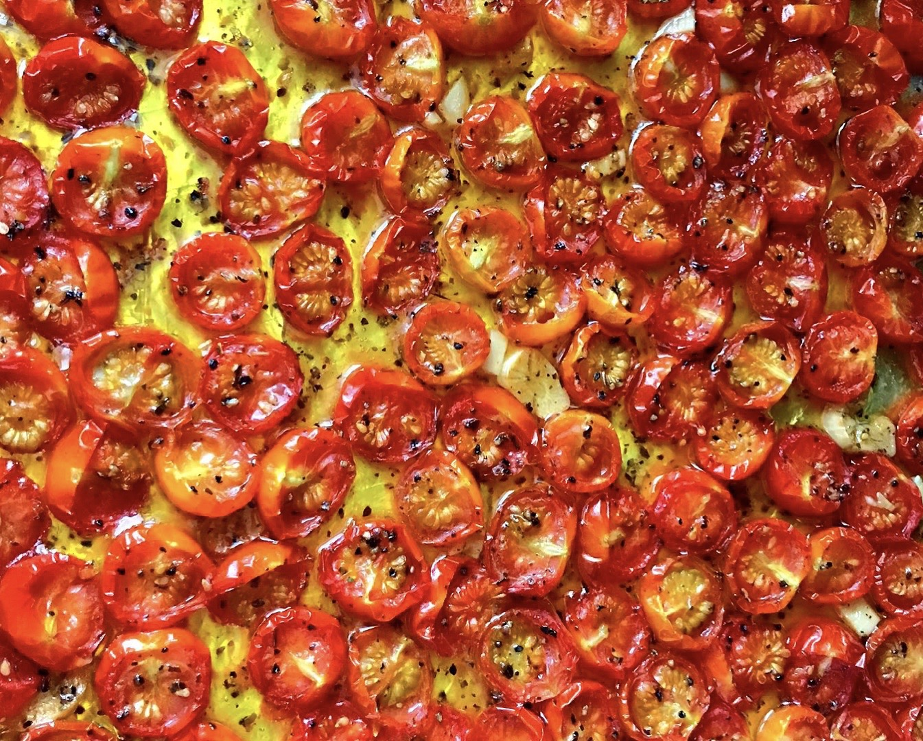 homemade roasted cherry tomatoes recipe