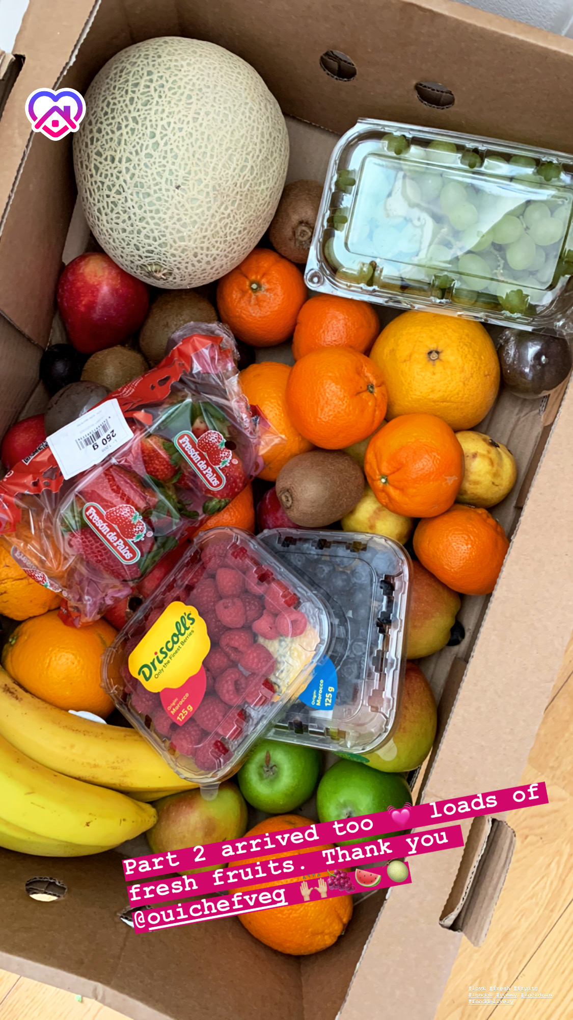 oui chef fruit delivery London