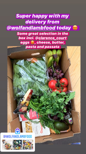 wolf and lamb fresh fruit and vegetable delivery London